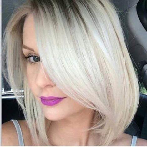 cabelo platinado chanel 2 470x470 - Cabelo Platinado, O visual em vários Cortes femininos