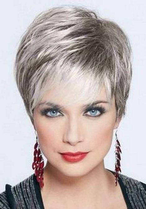 cabelo platinado curto 2 470x671 - Cabelo Platinado, O visual em vários Cortes femininos
