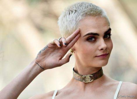 cabelo platinado curto 470x339 - Cabelo Platinado, O visual em vários Cortes femininos