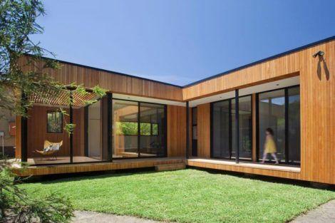 casas em l pequenas 1 470x313 - Modelos de Casas em L Configurações Modernas