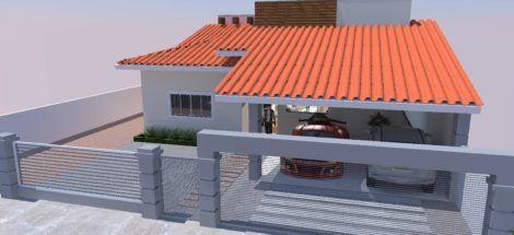 cobertura de garagem com telha de barro 1 470x215 - Cobertura de Garagem Moderna, Modelos sofisticados