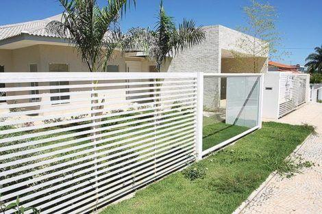 grades de faixa horizontal 3 470x313 - Modelos de Grades para Portão e muro de frente