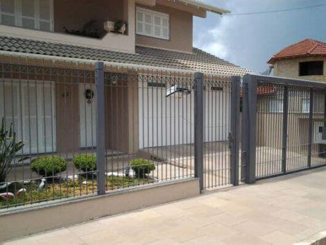 grades de faixa vertical 1 470x353 - Modelos de Grades para Portão e muro de frente