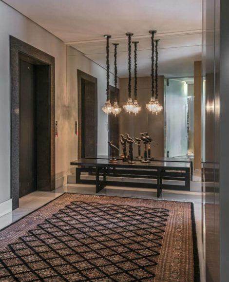 hall de entrada moderno 2 470x579 - Hall de Entrada Decorado com Sofisticação, Modelos