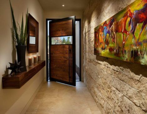 hall de entrada moderno 3 470x364 - Hall de Entrada Decorado com Sofisticação, Modelos
