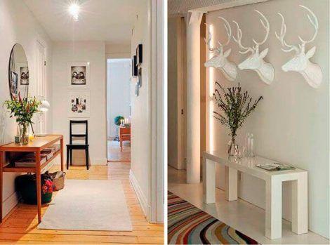 hall de entrada para apartamento 2 470x349 - Hall de Entrada Decorado com Sofisticação, Modelos