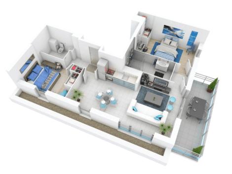 imagem 18 470x353 - Modelos de Casas em L Configurações Modernas