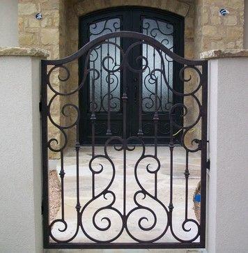 imagem 21 - Modelos de Grades para Portão e muro de frente