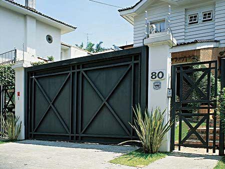 imagem 23 1 - Modelos de Grades para Portão e muro de frente
