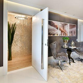 imagem 4 10 - Hall de Entrada Decorado com Sofisticação, Modelos