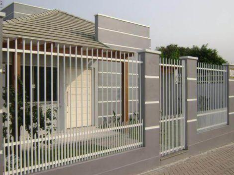 imagem 4 6 470x353 - Modelos de Grades para Portão e muro de frente