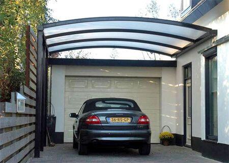 imagem 5 7 - Cobertura de Garagem Moderna, Modelos sofisticados