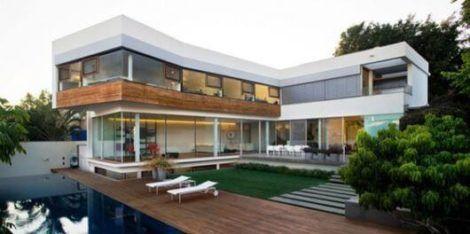 sobrados em l 3 470x234 - Modelos de Casas em L Configurações Modernas